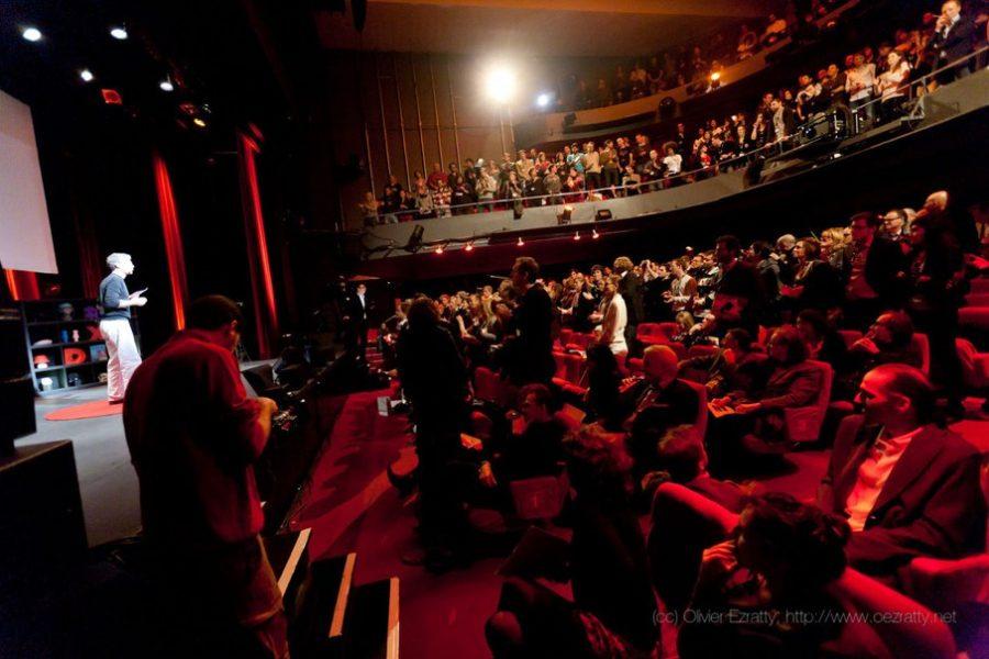 Speaking at TEDx Paris 2011