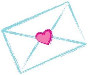 Enveloppe cœur